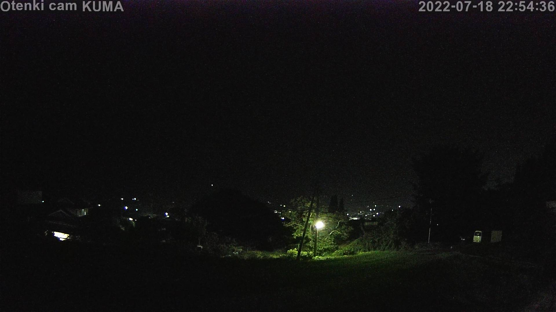 33カメラ 22時台の最終画像